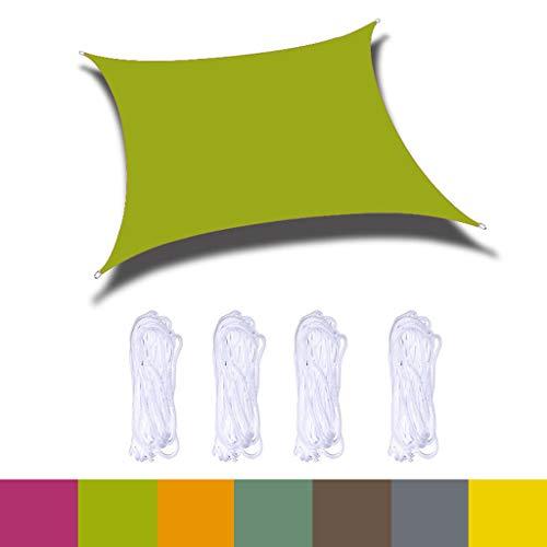 GAOZ Toldo Impermeable,Sun Shade Sail Sunscreen Toldo Oxford, protección Rayos UV, Tjardín, pérgola, Patio Trasero, Actividades al Aire Libre -3x3m