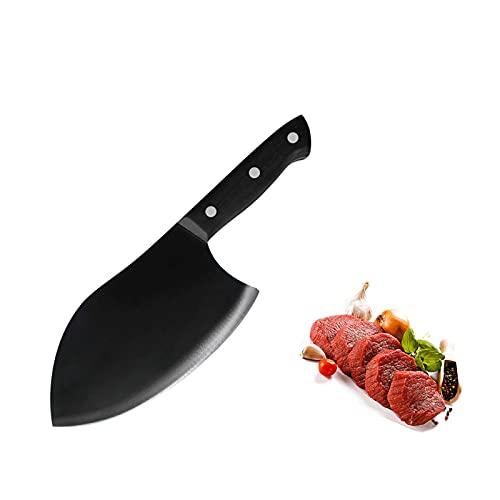 Cuchillo 7CR17 Cuchillo de acero inoxidable Hortalizas Tajado de tajado Cuchillo de cocinero Sharp Cleaver Cuchillo Cuchillo Cómodo Handle Chef Cuchillo (Color : Style 02)
