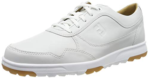 Footjoy Herren Golf Casual Golfschuhe, Weiß (Blanco 54516m), 40 EU