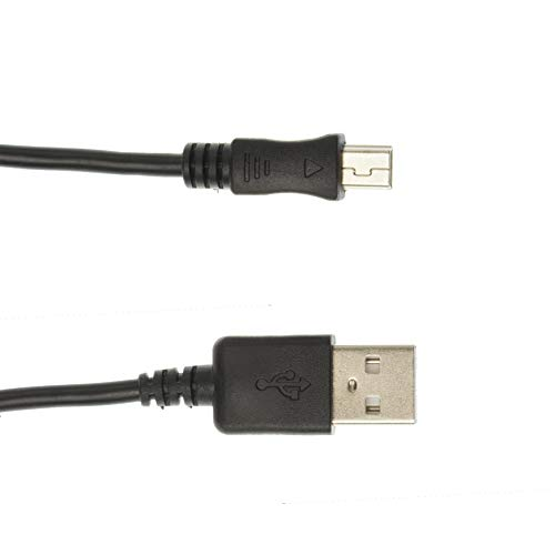 Kingfisher Technology 2m USB 5V 2A PC Black Charger Power Cable Lead...