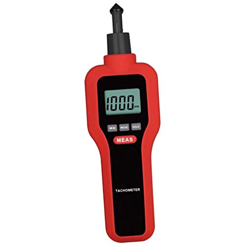 Fantastic Deal! ZYL-YL 1pc Portable Digital Tachometer Contact Non Contact 2-99999RPM LCD Display
