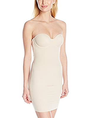 Maidenform Womens Endlessly Smooth Foam Cup Slip, 38C, Latte Lift