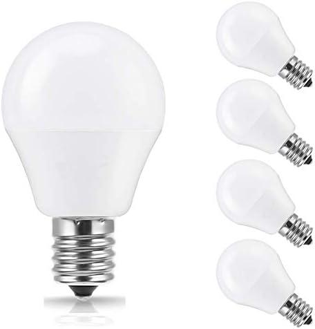 SumVibe E17 LED Bulb 5W 50W Equivalent Daylight White 6000K G14 LED Bulbs E17 Intermediate Base product image