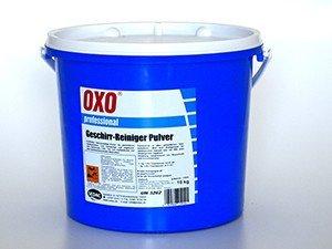 Geschirr-Reiniger Pulver OXO 10 Kg f. gewerbliche Spülmaschinen