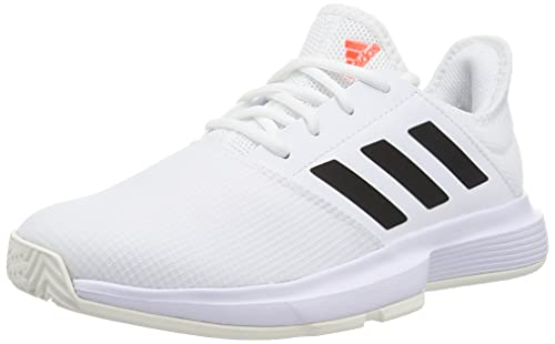 adidas GameCourt W, Zapatillas Deportivas Mujer, FTWBLA/NEGBÁS/Rojsol, 36 2/3 EU