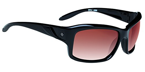 Spy - Occhiali solari Libra Black-Merlot Fade Bicicletta Unisex Adulto, Nero