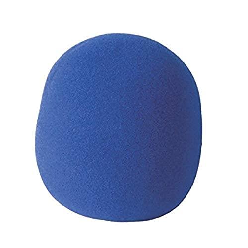 On-Stage Foam Ball-Type Microphone Windscreen, Blue