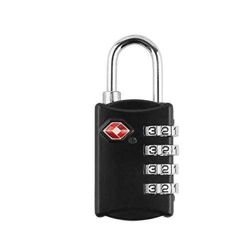 Combinatie hangsloten, 4 cijfers Gym slot, TSA goedgekeurd Combinatie Lock voor School Gym koffer Outdoor Sport Lockers
