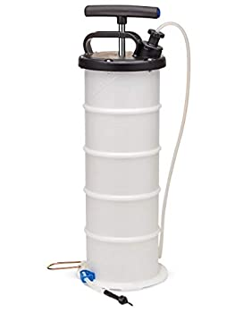 Fairmount Manual 6.5L Oil Extractor Pump Vacuum Fluid Evacuator Motor Engine Oil & Brake Fluid & Clutch Fluid & Power Steering Fluid Changer