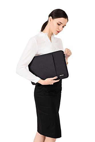 MOSISO Laptop Sleeve Bag Only Compatible with MacBook 12 inch with Retina Display A1534 2017/2016/2015 Release… 6 Internal dimensions: 12.4 x 0.79 x 9.45 inches (L x W x H); External dimensions: 13 x 0.79 x 10.04 inches (L x W x H). The front vertical side pocket dimensions: 9.25 x 9.25 inches (L x W). Made with high quality polyester material, a top opening zipper gliding smoothly and allows convenient access to your device. Slim and lightweight, does not bulk your device up and can easily slide into your briefcase, backpack or other bag. Extra pocket in front provides enough space to keep MacBook mouse, earphone, pens and notepads, offering added convenience.