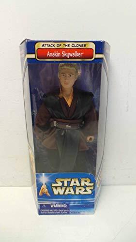 """2002 Star Wars Episode II Attack of the Clones 12"""" Action Figure - Anakin Skywalker"""