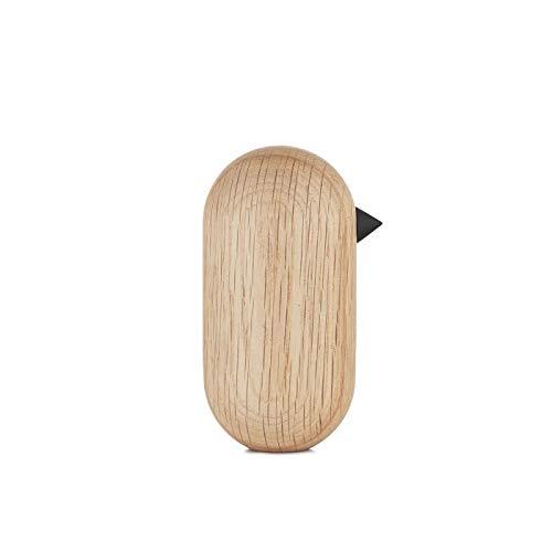 Normann Copenhagen Deko-Vogel, Holz, Eiche, 10 x 5.2 x 10 cm