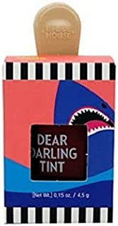 ETUDE HOUSE Dear Darling Water Gel Tint Ice Cream (RD306 Shark Red) | Vivid High-Color Lip Tint with Minerals and Vitamins from Soap Berry Extract to Moisture Your Lips