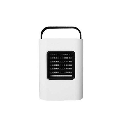 Enfriador De Aire Ventilador De Enfriamiento USB Purificador De Aire Humidificador Luz De Noche Led (Color: Azul)