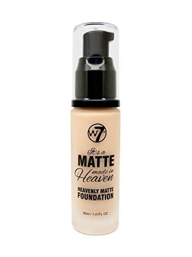 W7 It's a Matte Made in Heaven Foundation 30ml-Buff by W7