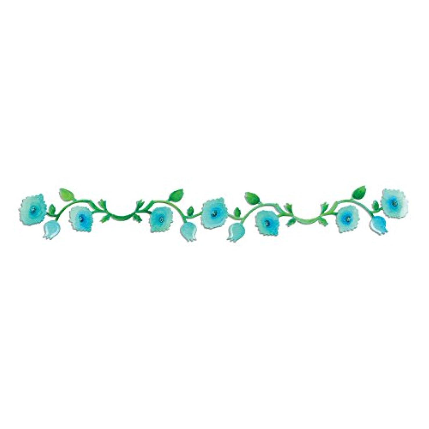 Sizzix 658511 Sizzlits Decorative Strip Die, Garden Vine by Scrappy Cat, Blue