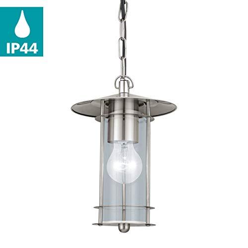 Eglo 30186 extérieur Lampe suspension E27 Transparent