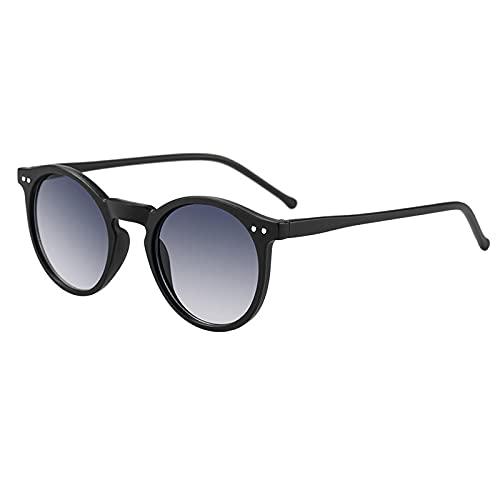 FENGHUAN Gafas desol unisex redondasGafas Ocean Lens Gafas de sol femeninas de compras YJ0710