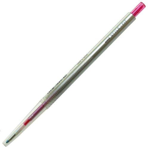 スタイルフィット(STYLE-FIT) ゲルインクボールペン 0.5mm【ベビーピンク】 UMN-1