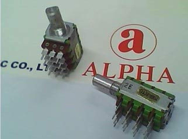 Taiwan Alpha Precision potentiometers B100K \u0026 Times; 4