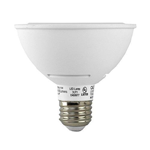 Euri Lighting EP30-2020ews LED PAR30 Short Neck Bulb, MCOB Line, Warm White 2700K, Dim, 11W (75W Equivalent) 800 lm 40 Degree Beam Angle, 90+ CRI, Med. Base (E26), UL & Energy Star Listed