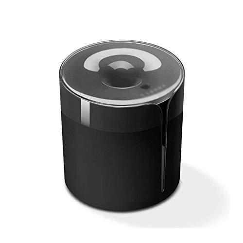 SMEJS Tapa de Papel de Inodoro montado en la Pared Cubierta de Tejido Redondo Cubierta de Toalla de servilleta Contenedor de dispensador de Toalla Impermeable para la Oficina del automóvil del baño