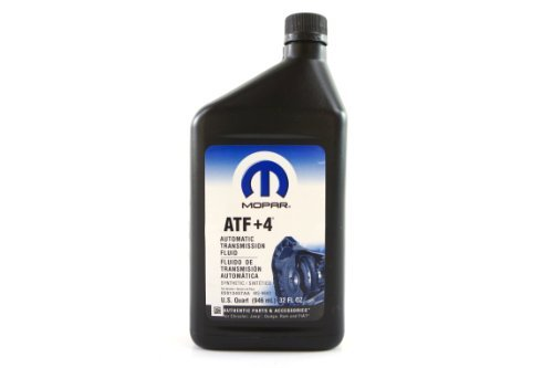 Genuine Mopar Fluid 5013457AA ATF+4 Automatic Transmission Fluid - 1 Quart by Chrysler