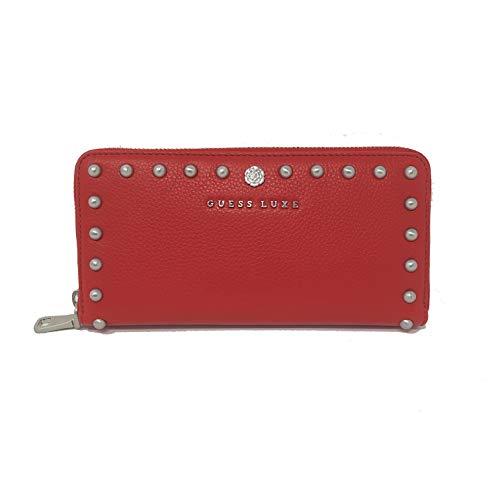Cartera Guess Luxe para mujer con tachuelas color rojo - Oliva
