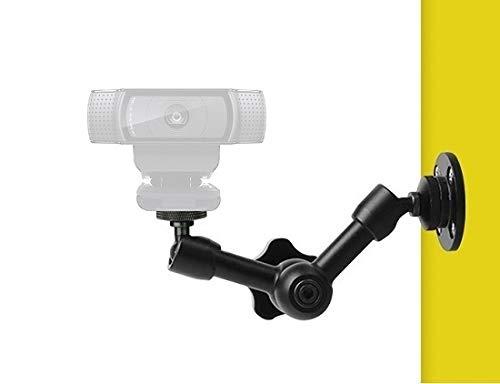 Supporto da parete per webcam, supporto per webcam Logitech Brio 4K, C925e, C922x, C922, C930e, C930, C920, C615-7