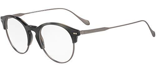 Giorgio Armani 0AR7172 Monturas de gafas, Opal Blue, 51 para Hombre