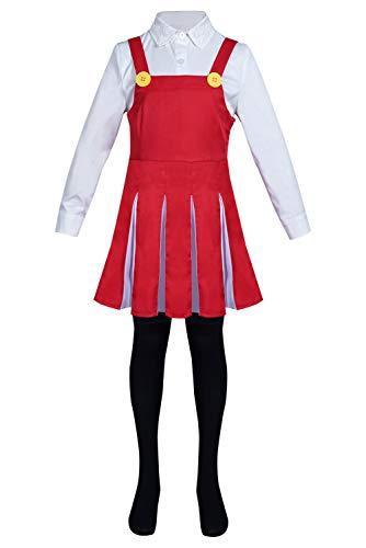 Disfraz de My Hero Academy Eri para cosplay, disfraz de carnaval de Halloween