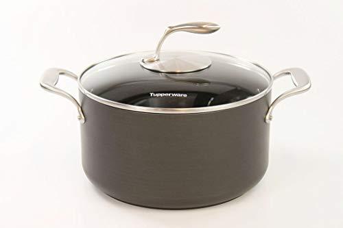 TUPPERWARE Kasserolle Chef-Serie Cottage Cookware 7,0 L inkl. Glasdeckel 31570