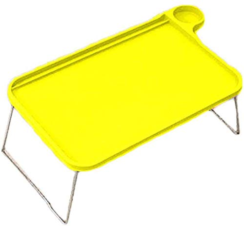 Inconpro faltbarer Betttisch - Betttisch, kompakt und leicht, für das Frühstück, Bett, Couchtisch, Laptop, für Sofa, Buch, Magazine und Frühstück