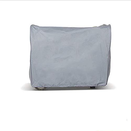 DONGZHI Impermeable Generador Polvo Cubrir Oxford Paño Jardín Patio Mueble Cubiertas Pesado Deber Almacenamiento Cubrir Impermeable (Color : Gray, Size : 78x60x60cm)