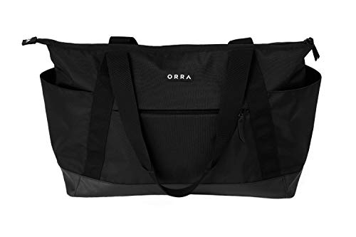 ORRA Eco Tote Bag Sustainable Beach Day Pack Multipurpose Stylish Home Travel Luggage Bags for Men Women Adult Unisex Ergonomic Shoulder Bag Laptop Computer Carry Case