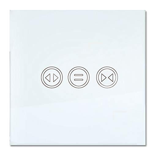 SODIAL WiFi Smart Vorhangschalter Tuya Smart Life Vorhang Jalousieschalter Rollladen Elektromotor -Startseite Alexa Echo Sprachsteuerung DIY