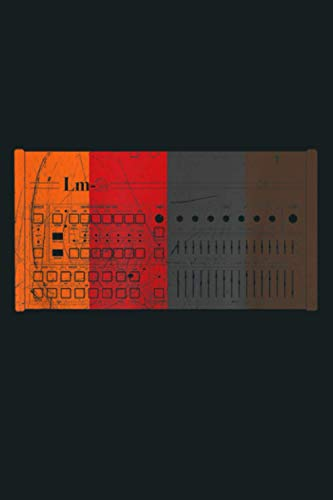 Vintage LM 2 Drum Machine Retro Synthesizer Analog Synth: Notebook Planner - 6x9 inch Daily Planner Journal, To Do List Notebook, Daily Organizer, 114 Pages
