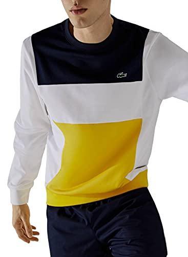 Lacoste Sport SH6941 Sweatshirt, Marine/Blanc-Genet-Marine, 4XL Homme