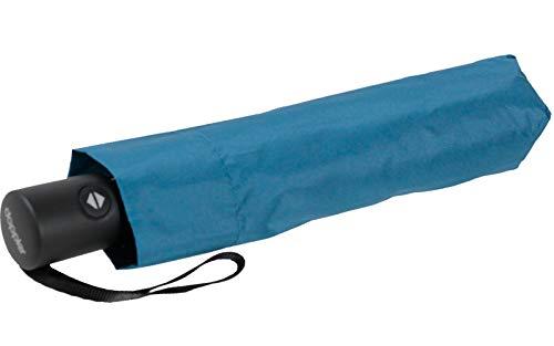 Zero*Magic der Ultra leichte & kompakte Regenschirm von doppler mit Auf-Zu Automatik bei Einem Gewicht von nur 176 Gramm Ultra Blue
