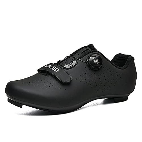 Calzado de ciclismo Calzado de ciclismo para hombre Calzado de carreras para bicicleta de carretera SPD Calzado para carreras Calzado para bicicleta de carretera Calzado para ciclismo al aire libre 42