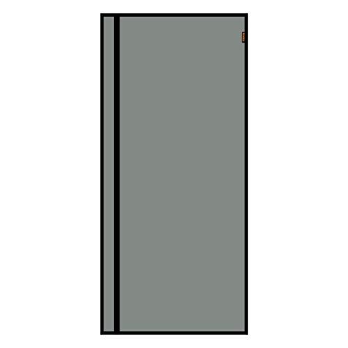 MAGZO Reversible Left Right Side Opening Magnetic Screen Door 38'' x 83'' Black, Fiberglass Door Netting with Magnets Fit Door Size 38'' x 83'' Patio Sliding Balcony Screen Mesh Net Curtain Wire