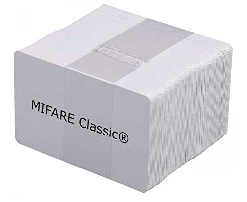 YARONGTECH MIFARE Card 13.56mhz ISO14443A Plastic White Card (Pack of 200)