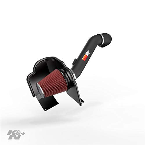 K&N Cold Air Intake Kit: High Performance, Guaranteed to Increase Horsepower: 2016-2019 Chevy/GMC Heavy Duty (Silverado 2500 and 3500, Sierra 2500 and 3500) 6.0L V8, 77-3090KTK