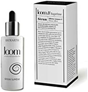 BIOEARTH - Loom Sérum Suprême - Snail Slime Face Serum - against the first signs of aging - tensor effect - with hyaluronic acid - AIAB certified - 30 ml