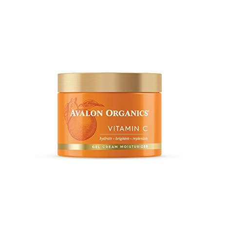 Avalon Organics Gel Cream Moisturizer with Vitamin C, 1.7 Oz
