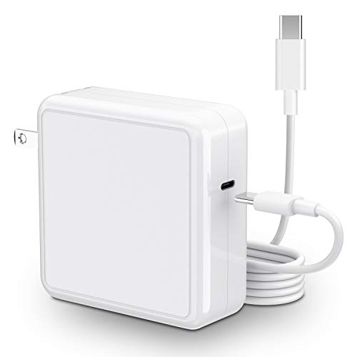87W USB C Charger Power Adapter with USB C Cable for MacBook Pro 16 inch (2019), 15 inch,13 inch, 12 inch, New Air (2018)
