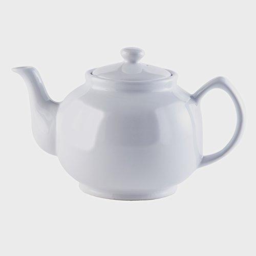 Price & Kensington, 10 Tassen Teekanne, Steingut, weiß, klassisch