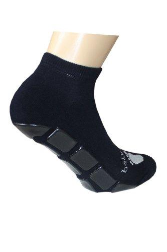 Weri Spezials Damen Sneaker in Marine, Gr. 39-42, mit einer Frotee Sohle und Turtle ABS Beschiechtung-gibt besseren Halt beim Laufen!