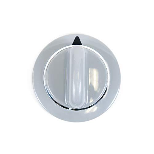 GE WE1M964 Genuine OEM Timer Knob (Grey) for GE Dryers