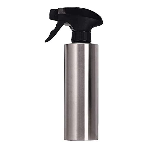 Botella de spray de aceite, dispensador de spray de aceite de oliva para asar, atomizador de acero inoxidable, bomba de aceite de cocina para maquillaje de cocina, plantas de pulverización,350ml,1pcs